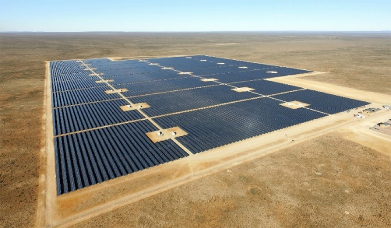 86 MW Mulilo-Sonnedix-Prieska Solar PV plant in the Northern Cape